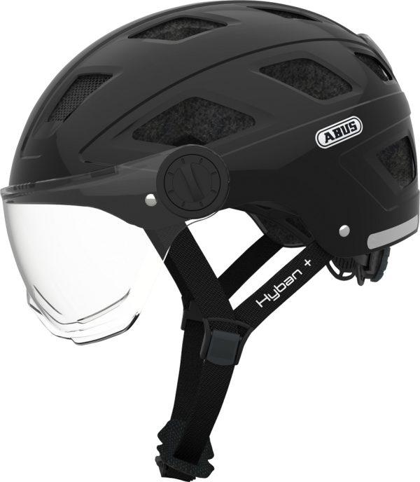 Hyban + clear visor black M