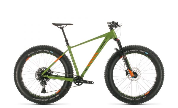 Cube Nutrail green´n´orange 2020