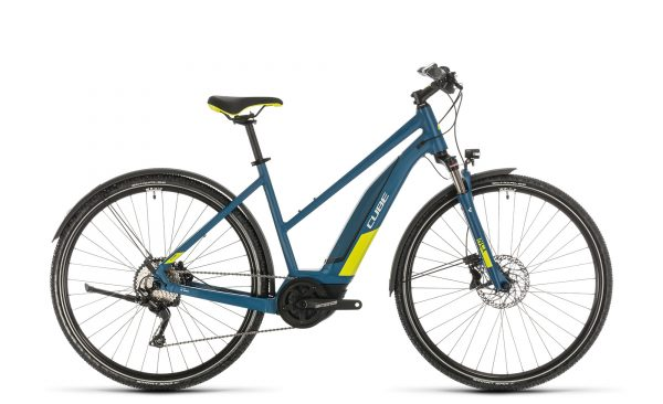 Cube Nature Hybrid EXC 500 Allroad blue´n´lime 2020 Trapeze