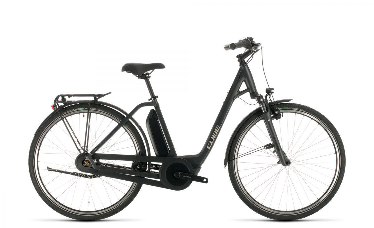 Cube Town Hybrid ONE 500 iridium´n´black 2020 Easy Entry