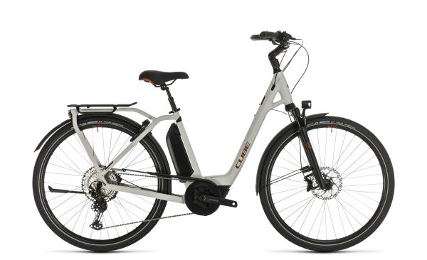 Cube Town Sport Hybrid EXC 500 grey´n´red 2020 Easy Entry
