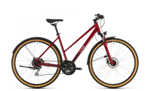 Cube Nature Allroad red´n´grey 2020 Trapeze