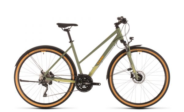 Cube Nature EXC Allroad green´n´orange 2020 Trapeze
