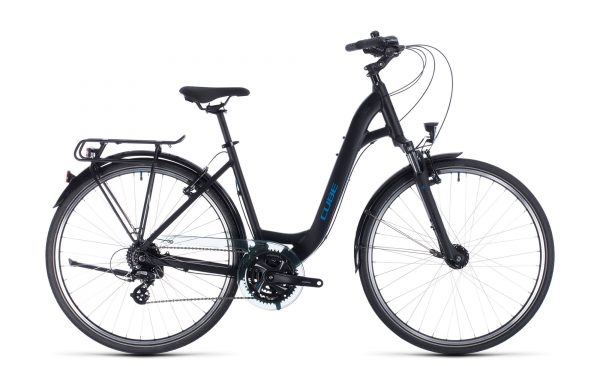 Cube Touring black´n´blue 2020 Easy Entry