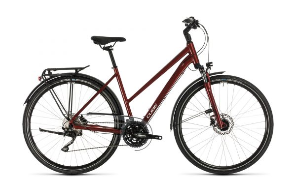 Cube Touring EXC red´n´grey 2020 Trapeze