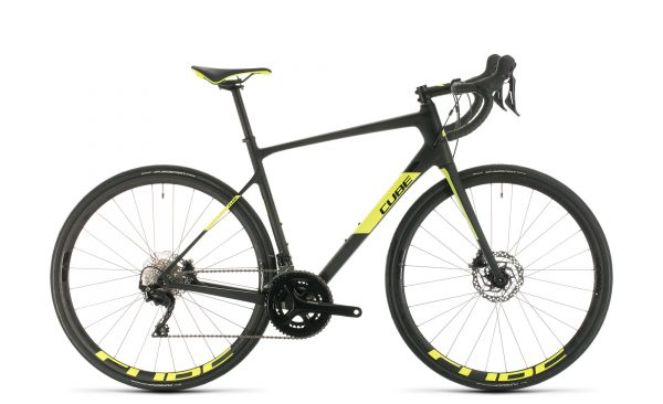 Cube Attain GTC Race carbon´n´flashyellow 2020