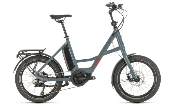 """Cube 20"""" Compact Sport Hybrid blue´n´red 2020"""